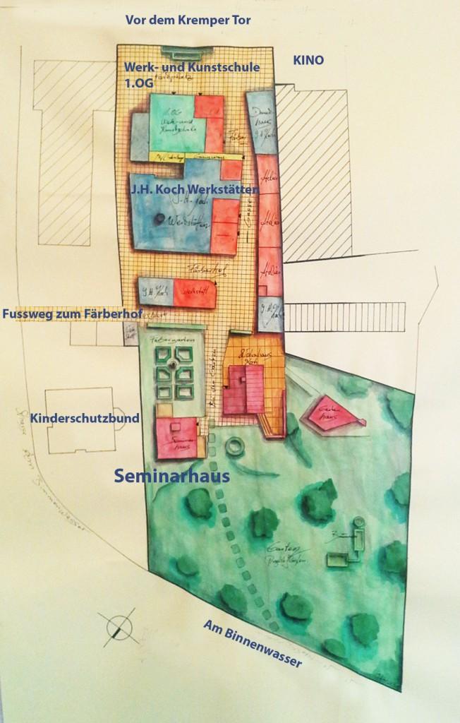 Werk-KunstschuleGebaeudeplan